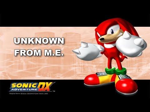 [SONIC KARAOKE] Sonic Adventure - Unknown from M.E. (Dread Fox & Marlon Saunders) [WATCH IN HD]