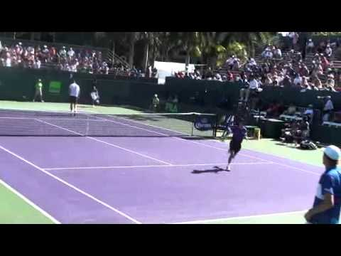 Sam Querry Vs. Kevin Anderson. Sony Ericsson 2012