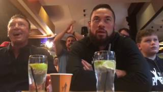 JOSEPH PARKER SHOWS NO EMOTION AS HE WATCHES ANTHONY JOSHUA TKO WLADIMIR KLITSCHKO (LIVE REACTIONS)
