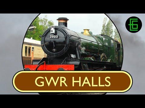 STEAM LOCOS IN PROFILE: Volume Two ONLINE SAMPLE - GWR Halls