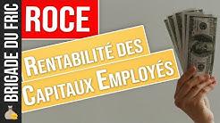 Rentabilité des capitaux employés : ROCE