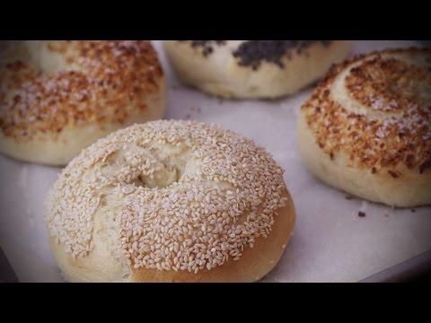 How to Make Homemade Bagels   Bread Recipes   Allrecipes.com