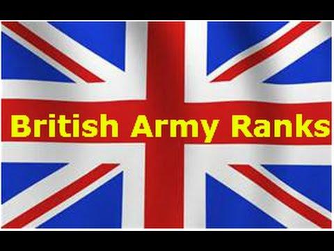 British Army Ranks