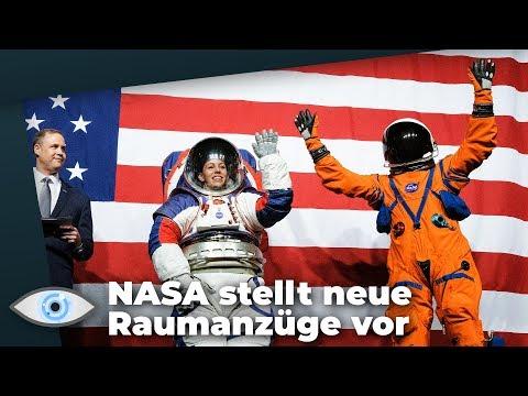 Mond-Mission 2024: Das können die beiden neuen Raumanzüge der NASA!