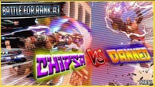 ChipSa vs DANNED - BATTLE FOR RANK #1 [FIRST ENCOUNTER] (with chat)