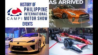 History of CAMPI Philippine International Motor Show Events 2007-2016