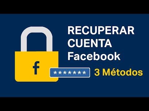 Cómo Recuperar Una Cuenta De Facebook 2019【SOLUCIÓN】