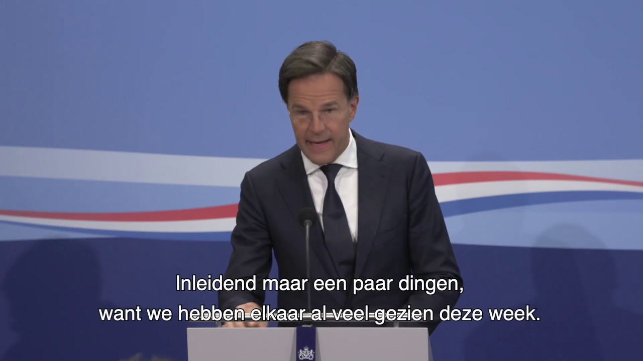 Statement Persconferentie MP Rutte Van 5 Juni 2020