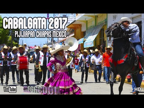 Cabalgata Pijijiapan Chiapas Mexico 2017