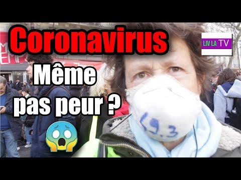 ��Coronavirus même pas peur? ���� (Manifestation contre 49.3) [Paris] Micro-trottoir
