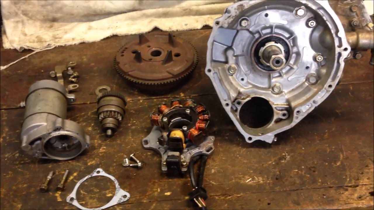 Step 8 How To Install Polaris 400l Stator Flywheel Starter Rewind