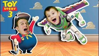 Ящик с игрушками Дидишки выполняют задания СВИНЬИ История Игрушек Прохождение TOY STORY #2
