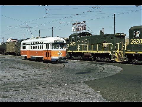 Philadelphia -- Route 15 Original PCC Streetcar Scenes -- 8mm & Slideshow