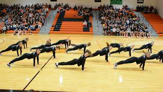 Marquettes Marietta High School Pep rally 9-1-17