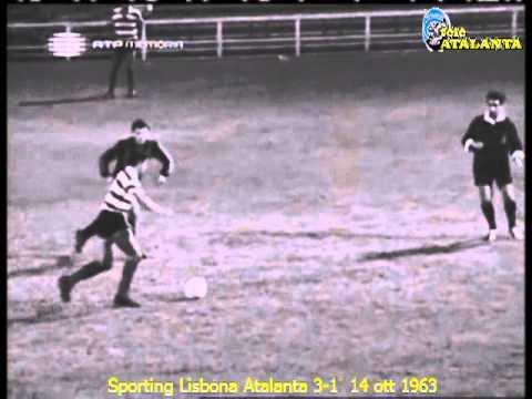1963-64 Coppa Coppe Sporting Lisbona Atalanta 3-1 14 ott 1963 (Nova)