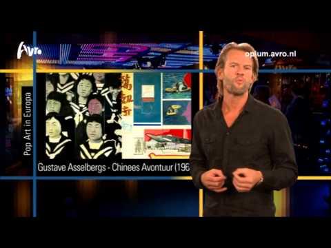 Pop Art in Europa - Jasper Krabbé (Opium Tv 8 september)