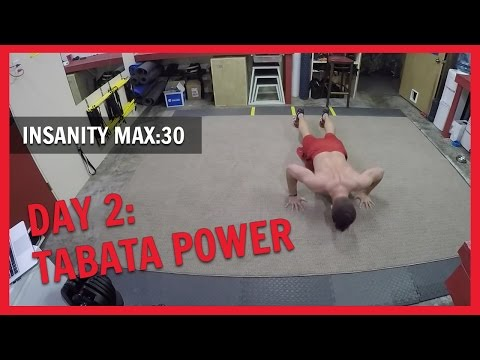 INSANITY MAX:30 – Day 2 Tabata Power  NC FIT CLUB - YouTube