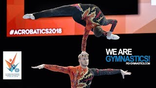 2018 Acrobatic Worlds, Antwerp (BEL) - Highlights MEN