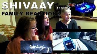 SHIVAAY trailer FAMILY REACTIONS