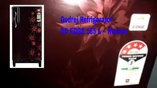 Godrej Refrigerator RD EDGE 185 L Single Door -- Review
