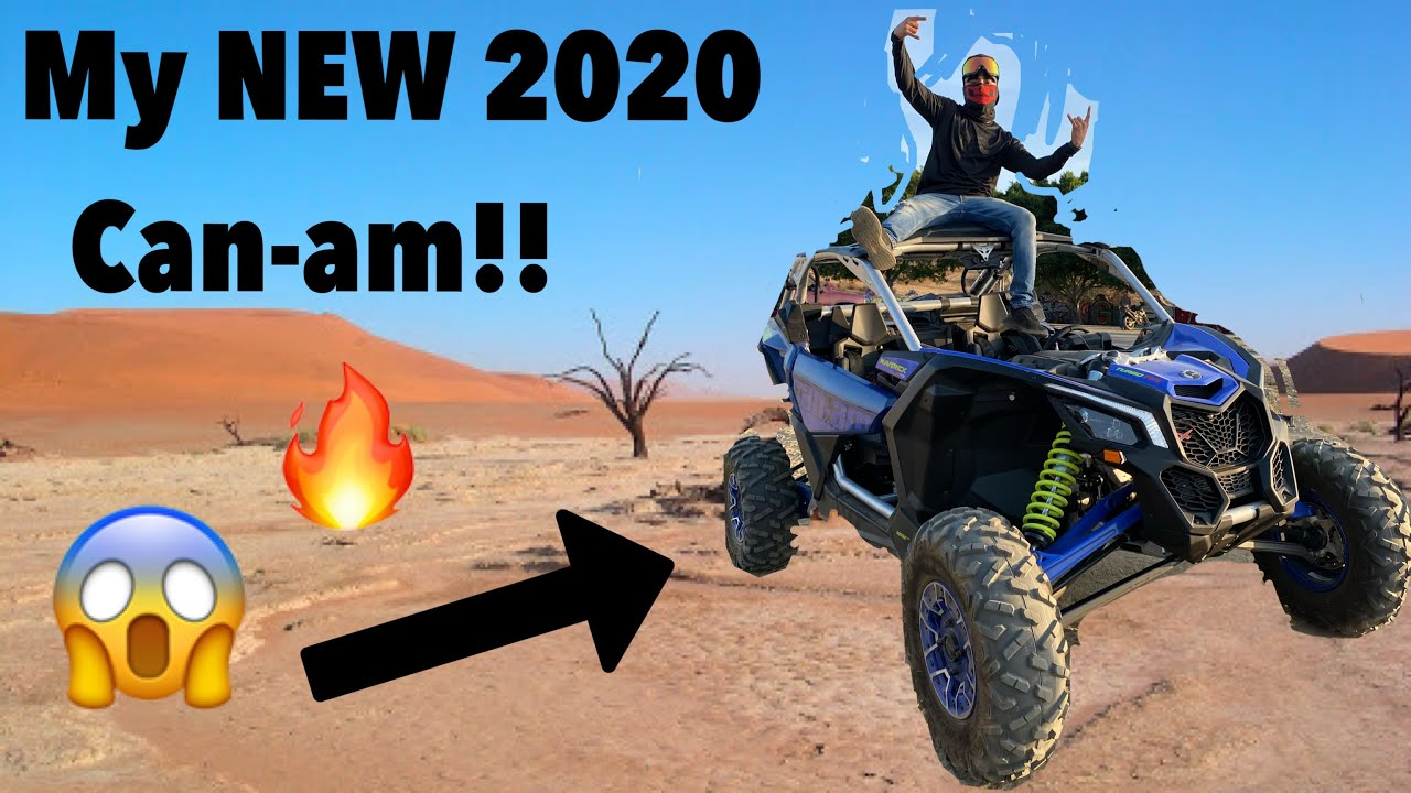 MY BRAND NEW 2020 CAN-AM X3!!