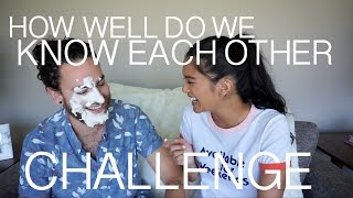 How Well Do We Know Each Other Challenge - Us The Duo