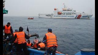 Tàu Trung Quốc HD8 đã quay lại Bãi Tư Chính, đã có va chạm nhưng Việt Nam vẫn nắm quyền kiểm soát