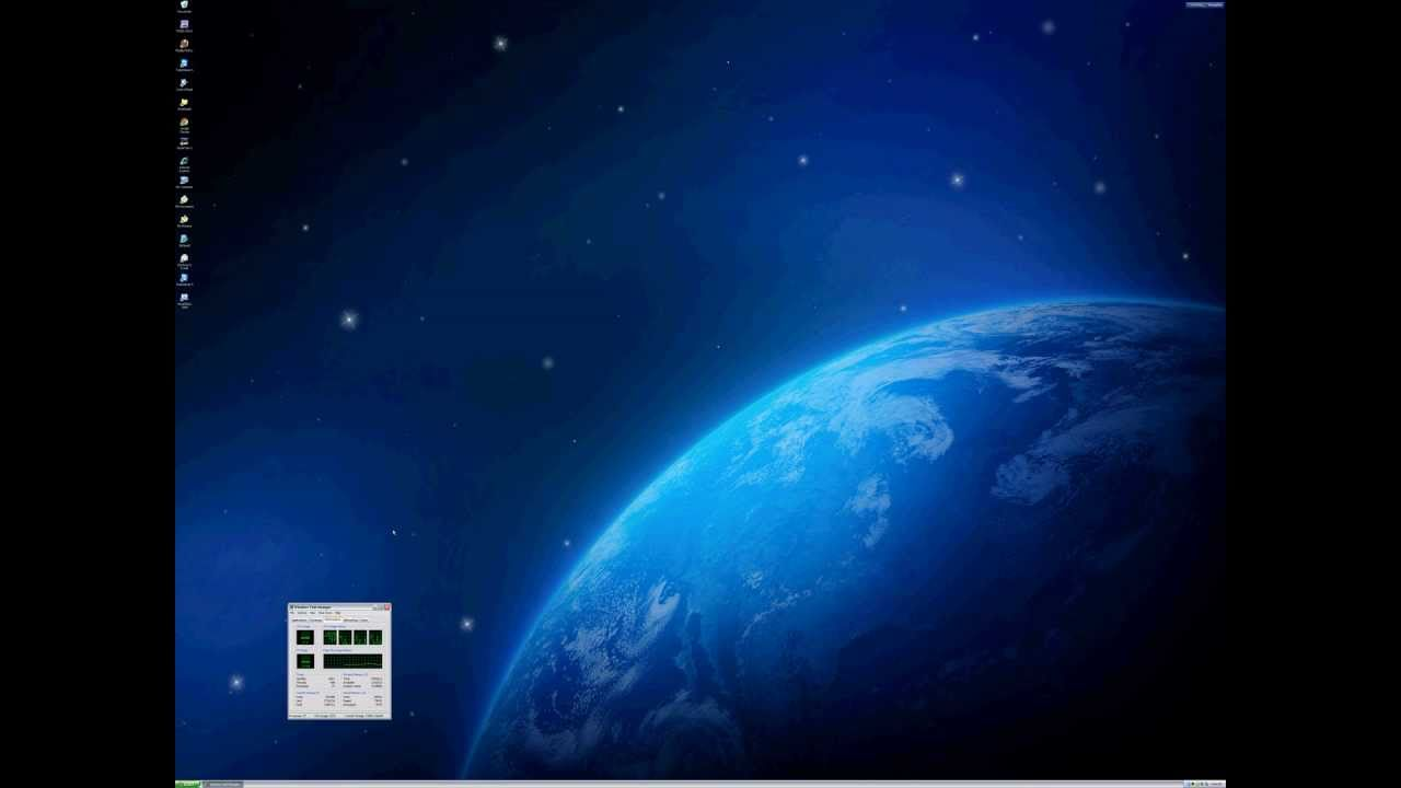 (4K Resolution) Windows XP on 4096 x 3072 Resolution Monitor