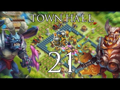 Castle Clash: Town Hall Level 21