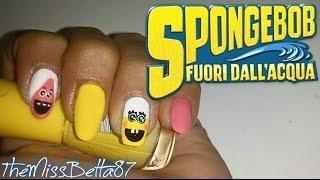 Spongebob - Fuori dall'acqua Nail art