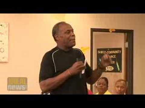 Danny Glover promotes solutions in New Orleans