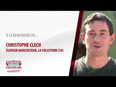 Témoignage client : Christophe Clech - Niche à veaux 12 à 16 places