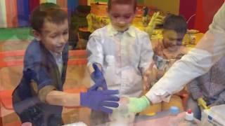 Детское Крио химическое шоу