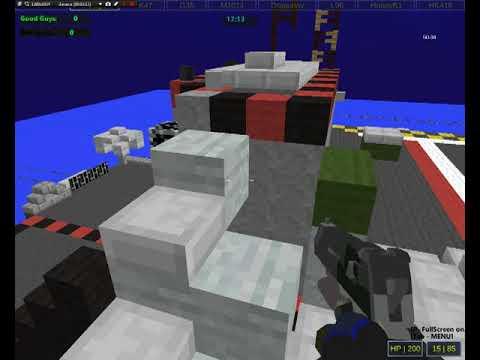 Игра Майнкрафт: Стрелялка Героев 1