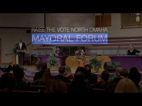 Raise the Vote North Omaha Mayoral Forum 2017