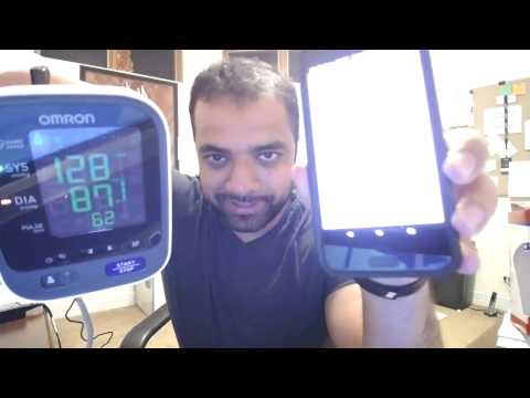 Testing the Blood Pressure Function: Helo LX vs Omron