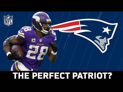 Would Adrian Peterson Make the Patriots Unbeatable? | NFL | Good Morning Football
