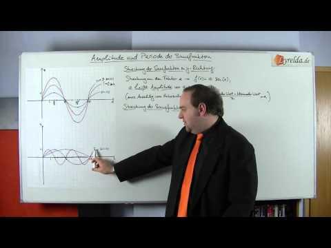 Amplitude & Periode bei trigonometrischen Funktionen - Lyrelda.de