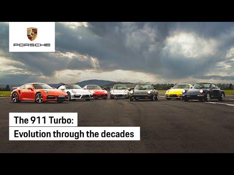 Evolution of the Porsche 911 Turbo
