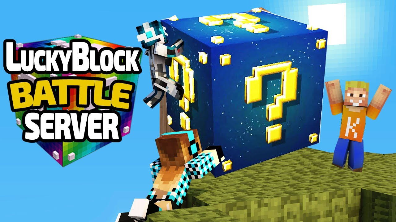 TOTAL SPANNEND LUCKY BLOCK BATTLE LPmitKev YouTube - Minecraft lucky block jetzt spielen