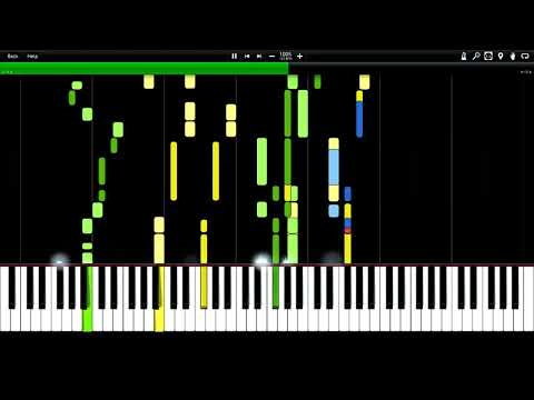 Belinda Carlisle - Heaven Is A Place On Earth Impossible Synthesia Piano Tutorial (midi)