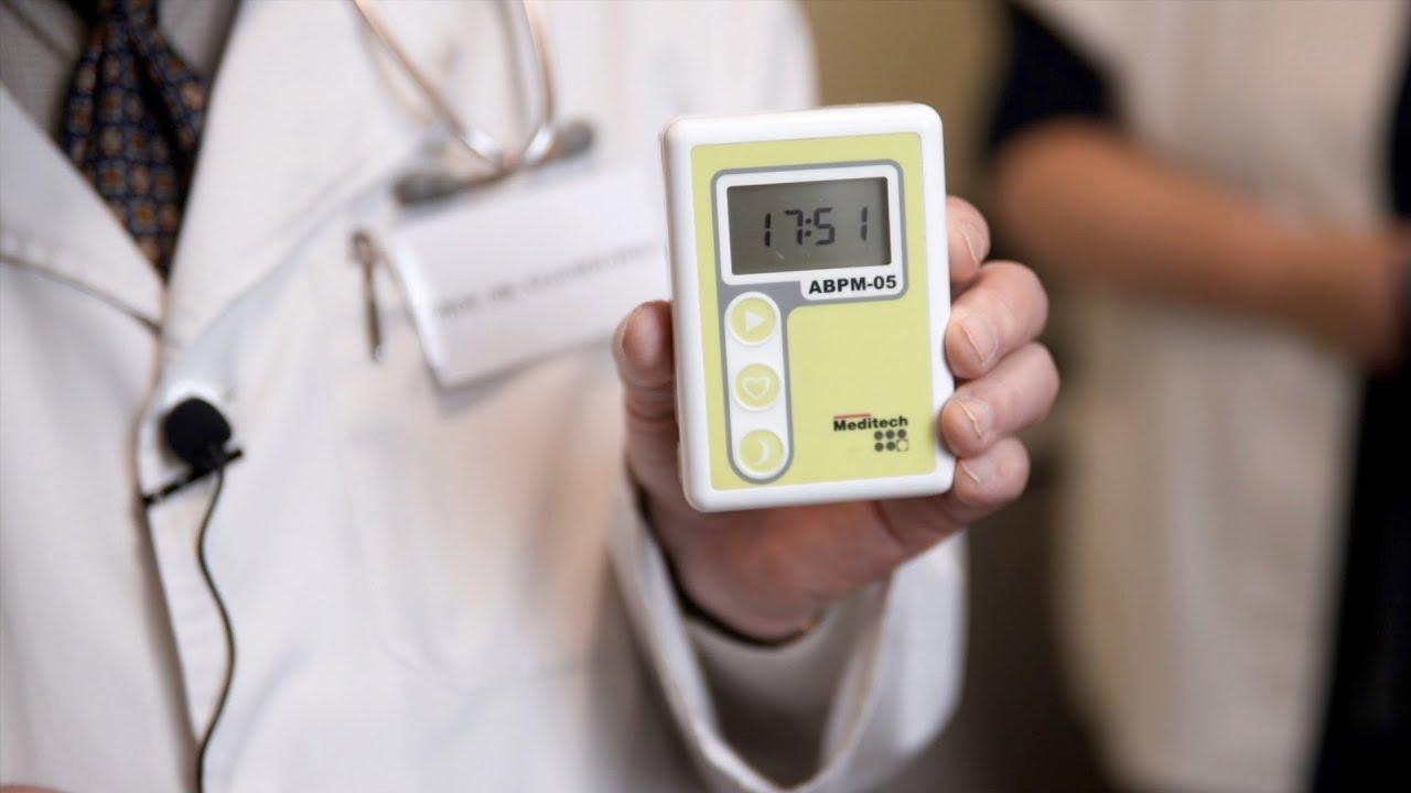 24 órás vérnyomás monitorozás (ABPM) - YouTube