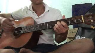 Về quê trên bản Mèo Guitar solo