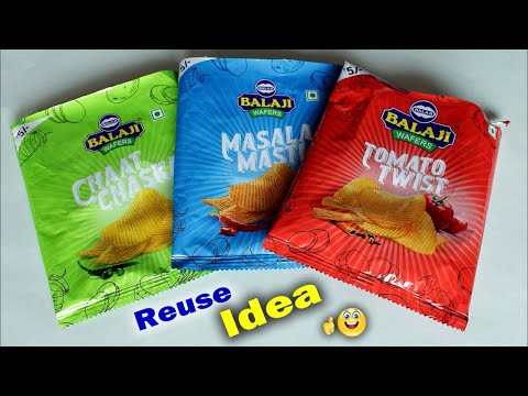 WOW !! Best Reuse Idea Out Of Waste Wrapper | DIY Room Decor Idea/ Handmade Craft | Waste mathi best