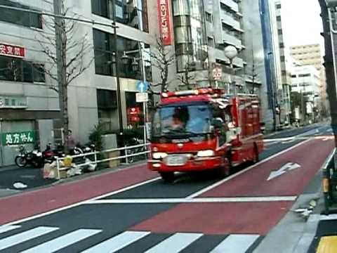 Tokyo Fire Engine Responding/ 東京消防庁49消防特別救助隊の緊急走行