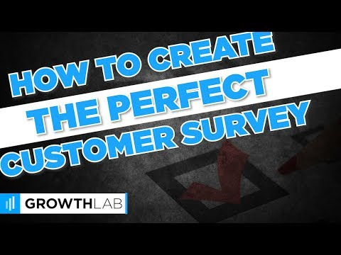 How to create the perfect customer survey
