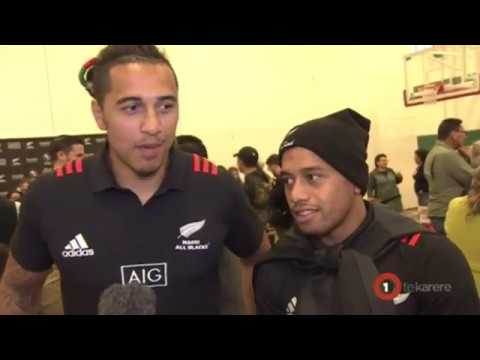 Culture exchanged between Māori All Blacks and host First Nations peoples of Canada
