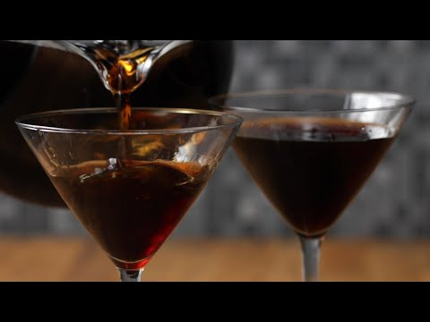 Cold Brew Martini For One Or For A Crowd •Tasty