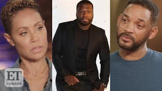 50 Cent Asks Wİll Smith About Jada's 'Entanglement'