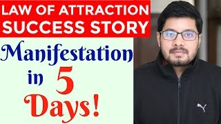 MANIFESTATION #78: Fast Success with LAW OF ATTRACTION | How to Manifest Anything Fast